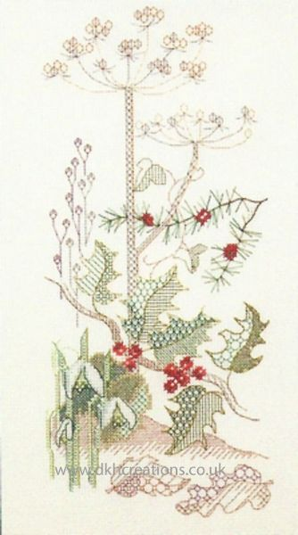 Seasons Panels Winter Cross Stitch Kit